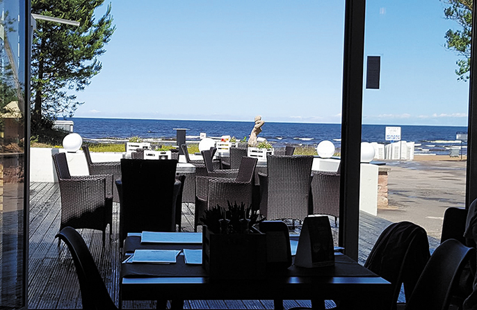 Restaurant Cafe del Mar Rīga