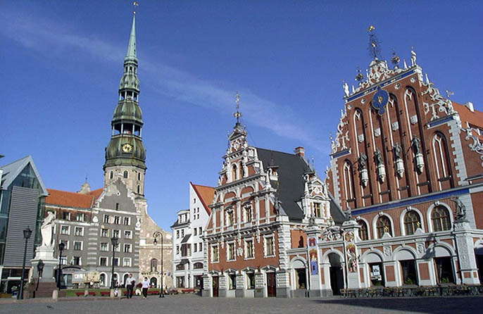 Excursions in Riga and Old Riga
