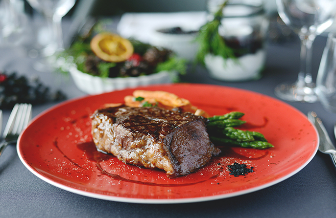 Black Angus fillet steak