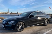 Rent a car with driver Mercedes E-class 2017 - Riga