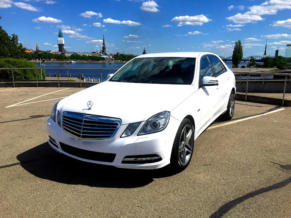 Rent a car with driver Mercedes-Benz E-class 2012