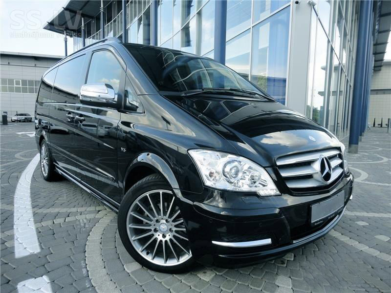Аренда авто с водителем Mercedes-Benz Viano 2010 - Рига