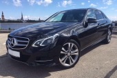 Rent a car with driver Mercedes-Benz E-class - Riga