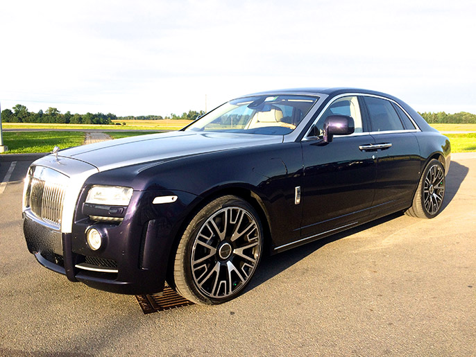 Rent a car with driver Rolls-Royce Ghost Series Mansory 2017