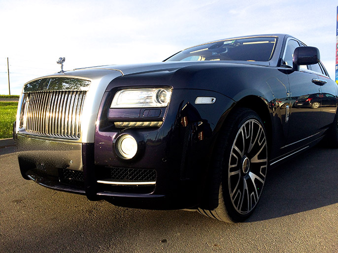 Аренда Rolls-Royce Ghost Series Mansory 2017