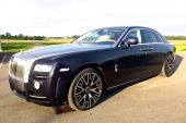 Rent a car with driver Rolls-Royce Ghost Series Mansory 2017 - Riga