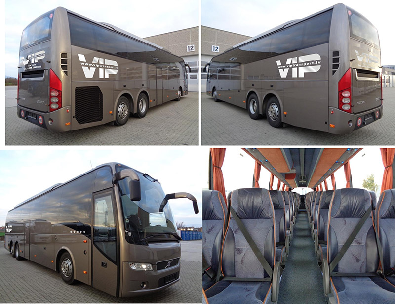 Rent a bus Volvo 2017 - Riga