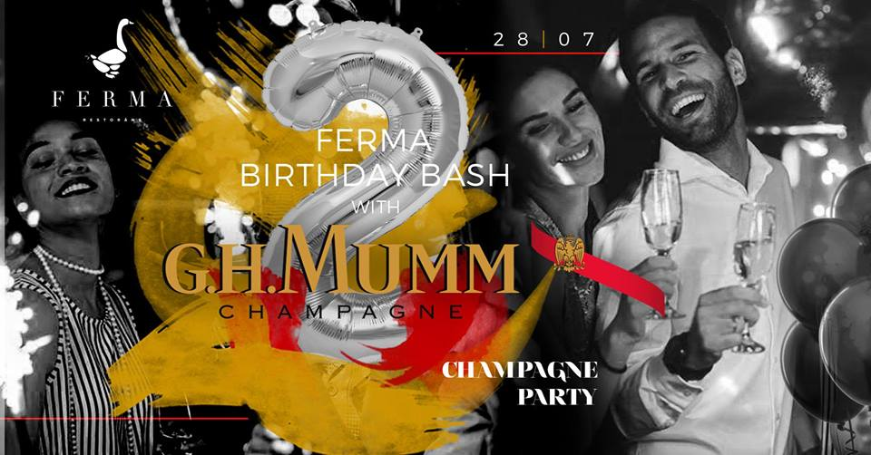 FERMA Birthday Bash: Champagne Party with G.H.Mumm