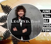DJ Fedor Fomin at Legend.Beach