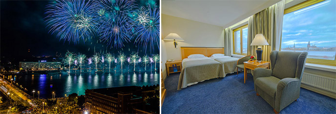 New Year 2021. A night of magic, magic and wonders at the Radisson Blu Daugava Hotel