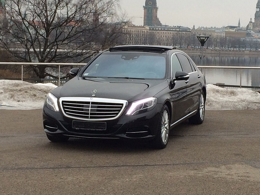 Rent a car with driver Mercedes New W 222 S-class Long 2015