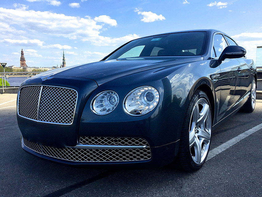 Rent a car with driver Bentley Flying Spur 2015