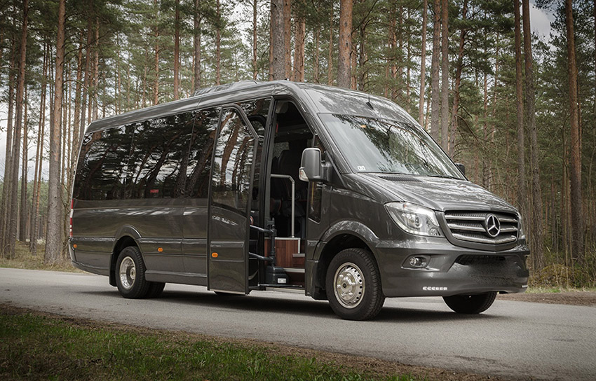 Rent a bus Mercedes Sprinter 2016