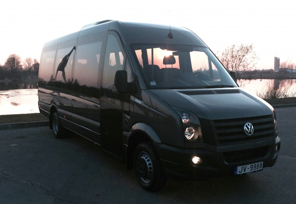 Rent a bus VW Crafter