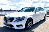 Auto noma Mercedes-Benz W222 S-class Long 2016 balts
