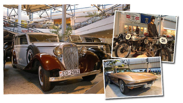 Excursion to the motor museum in Riga