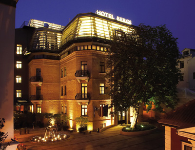 Hotel Bergs exterior