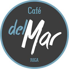 Logo Restaurant Cafe del Mar Rīga