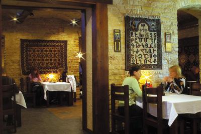 Ресторан Akhtamar